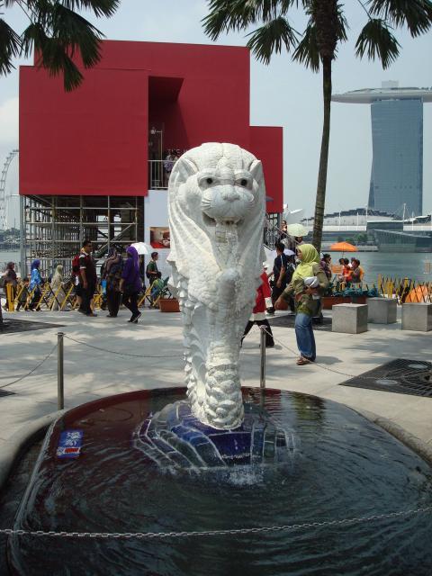 GWまっただ中のシンガポールの写真1