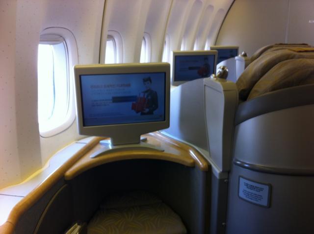 スタアラ特典航空券利用 ファーストクラス8日間世界一蹴の写真2