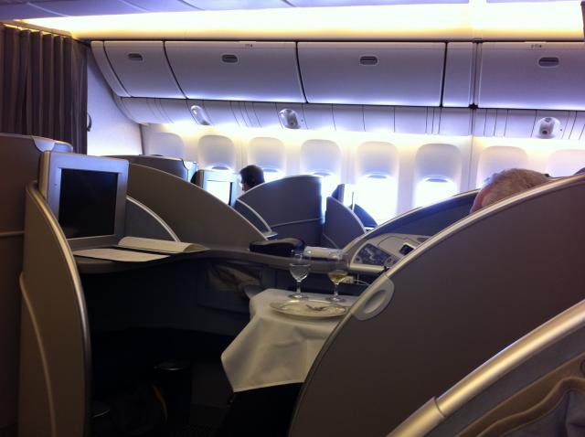 スタアラ特典航空券利用 ファーストクラス8日間世界一蹴の写真7